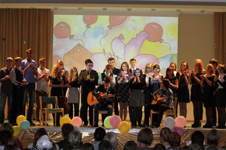 Общее фото учеников