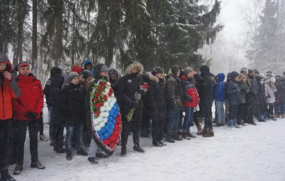 Общее фото участников Вахты памяти