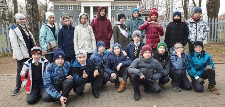 Общее фото пятого класса
